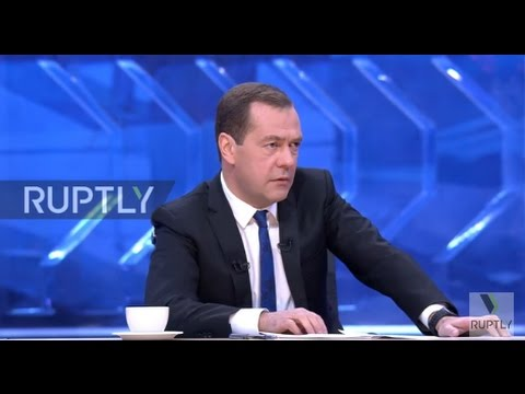 Russia: Medvedev calls Trump pick Rex Tillerson a 'man of business'
