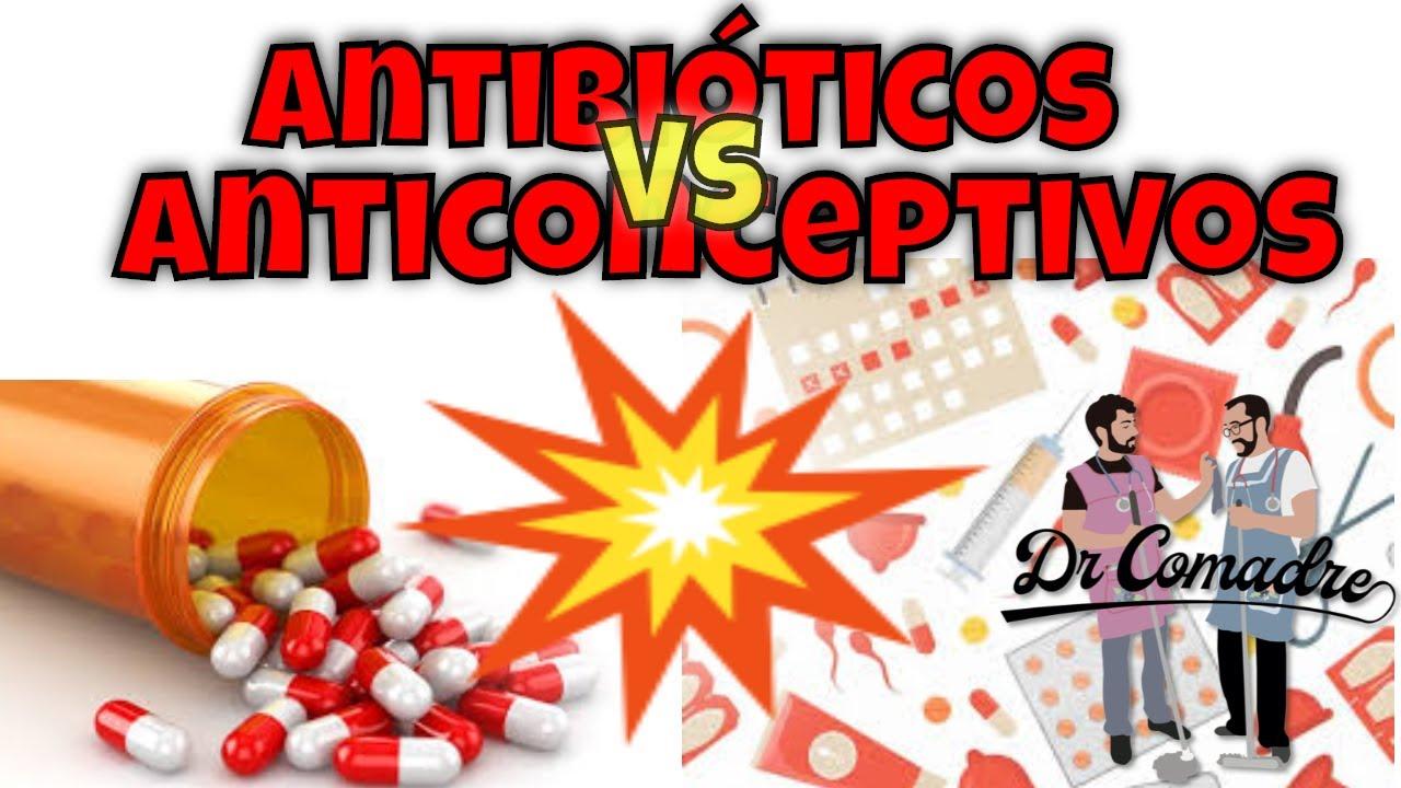 antibioticos y anticonceptivos interaccion