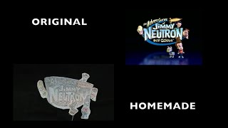 Live Action Jimmy Neutron: Boy Genius Theme Song- Side By Side Comparison