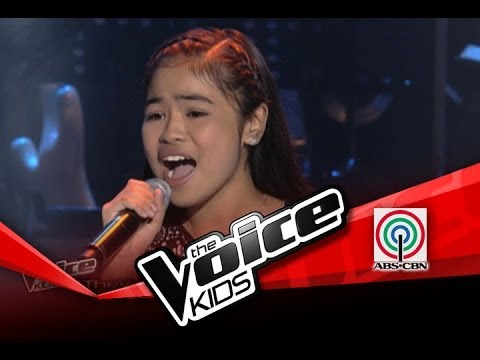 "The Voice Kids Philippines Blind Audition ""Somewhere"" by Allina"