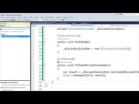 Learning SOLID Principles Using C# - Infragistics Webinar