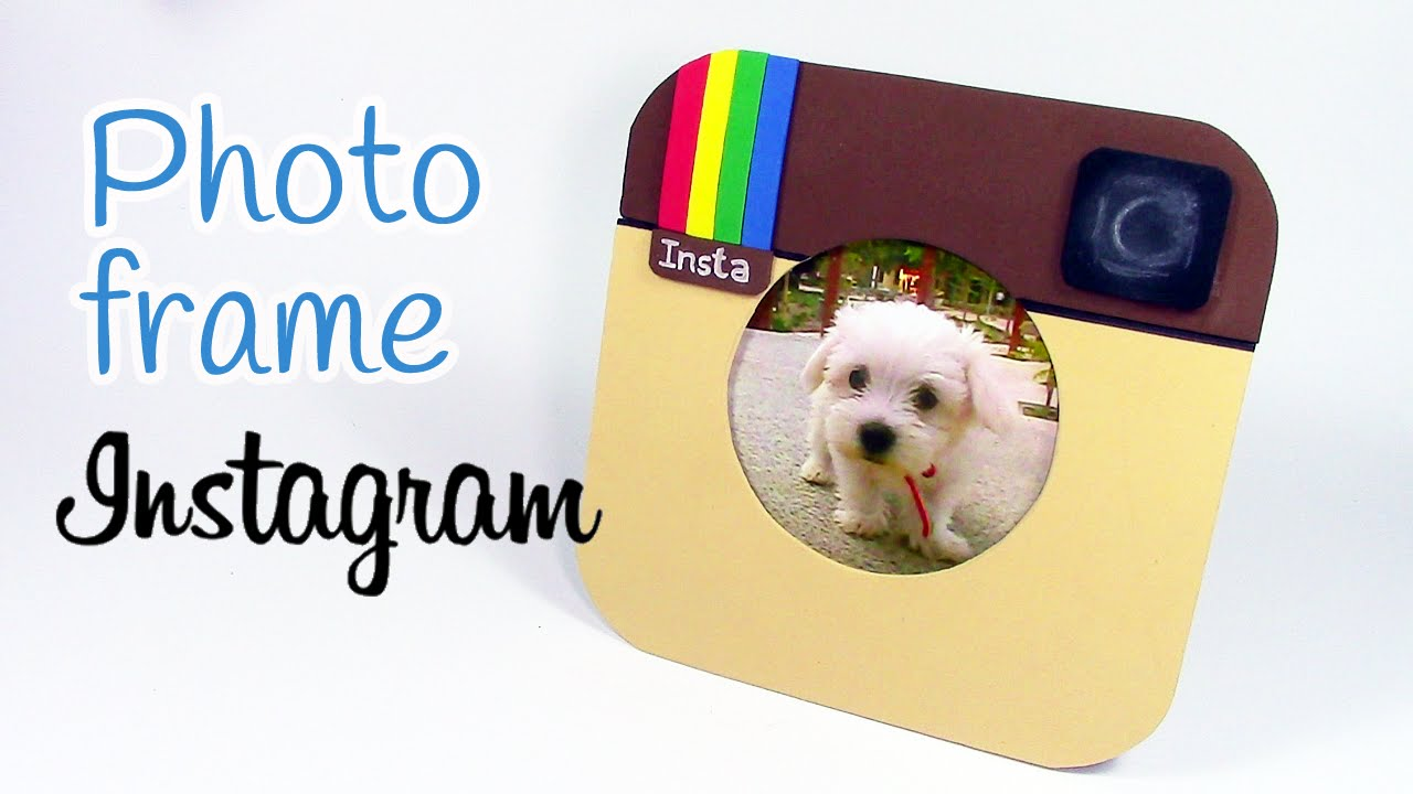 Diy Crafts Photo Frame Instagram Innova Crafts Youtube