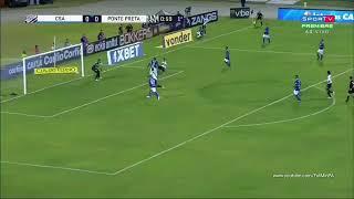CSA 1 x 2 PONTE PRETA - MELHORES MOMENTOS/ SERIE B 12/10/2018