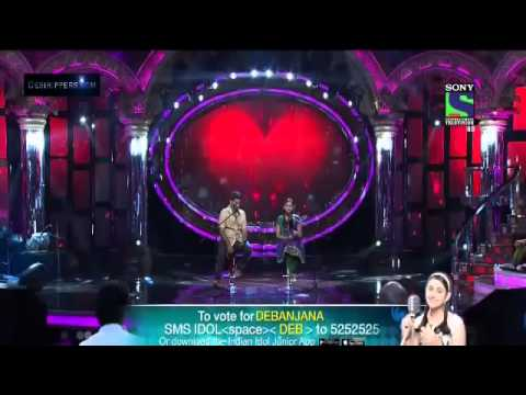 Debanjana And Arijit Indian Idol Junior 2013