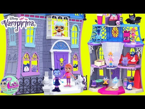 Vampirina Hauntley's Scare B&B Doll House Drive Car Wrong Re
