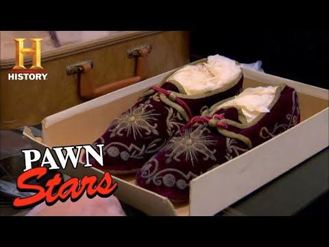 Pawn Stars: HOLY SLIPPERS Leave Rick SPEECHLESS (Season 7) | History