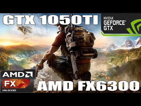 (1080p) Ghost Recon: Wildlands - GTX 1050 TI - AMD FX 6300 -Benchmark ULTRA/HIGH/MED/LOW |