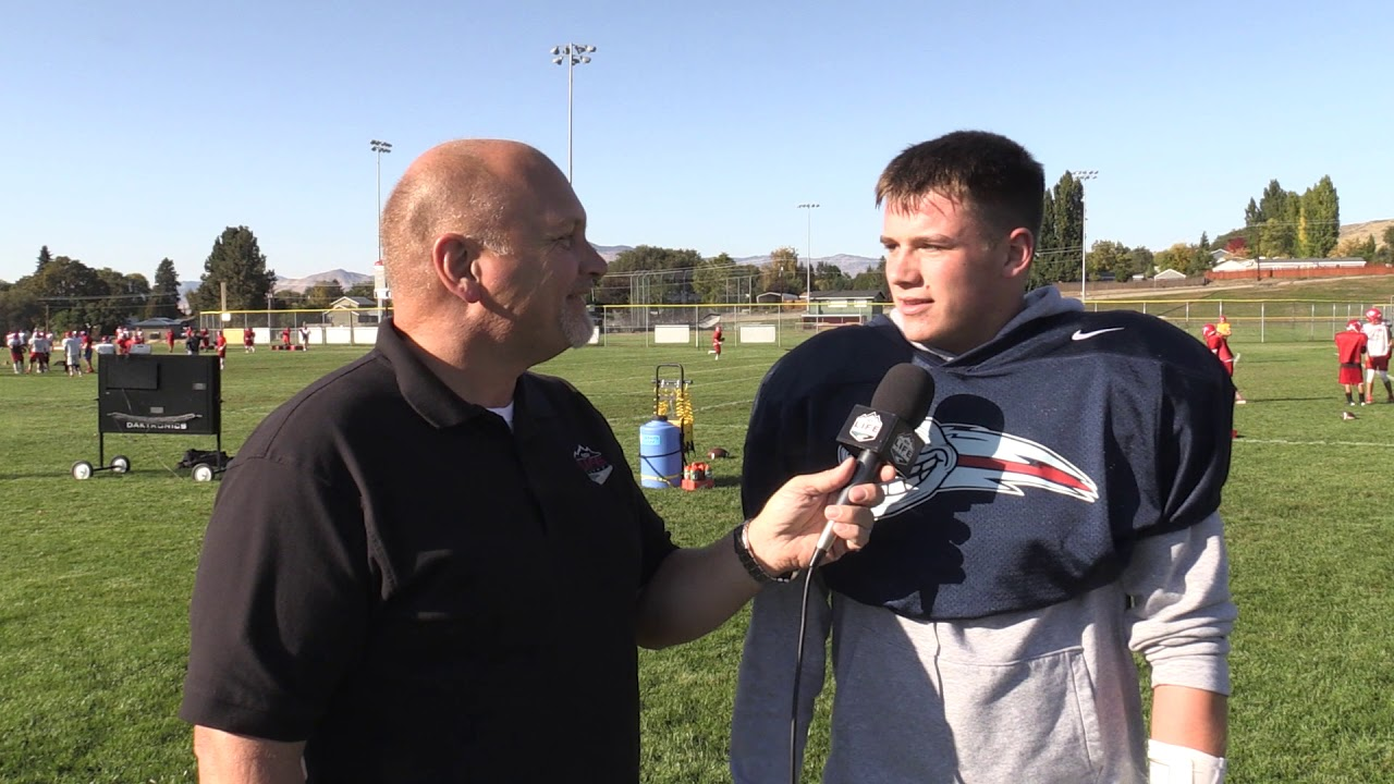 Eastmont Defensive Lineman Max Prazer 2019-10-10