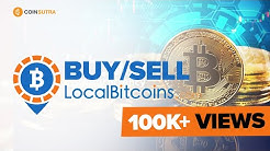 How To Buy/Sell Bitcoins On LocalBitcoins