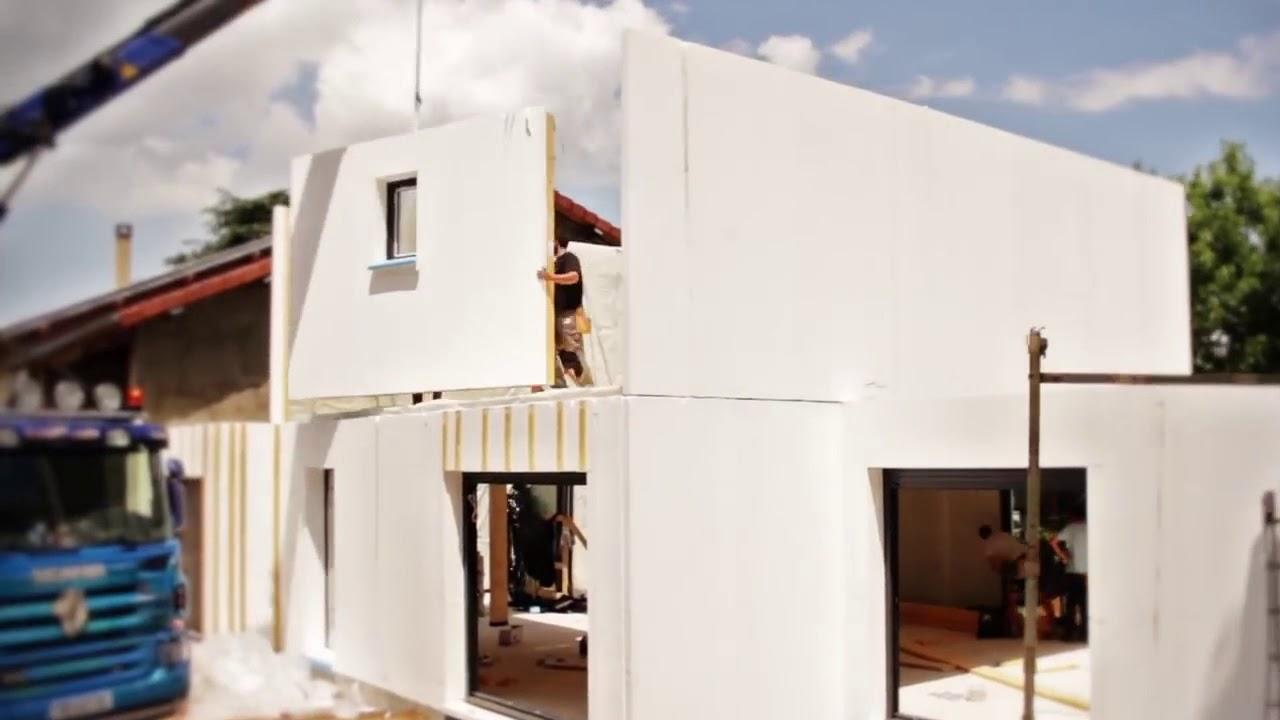 Construction Du0027une Maison Ossature Bois Natilia
