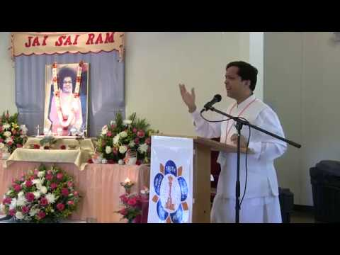 Sathya Sai Retreat 2017, St.Louis (USA) - Talk by Dr.Shashank Shah