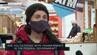 Are you satisfied with transparency in the federal government? | Outburst