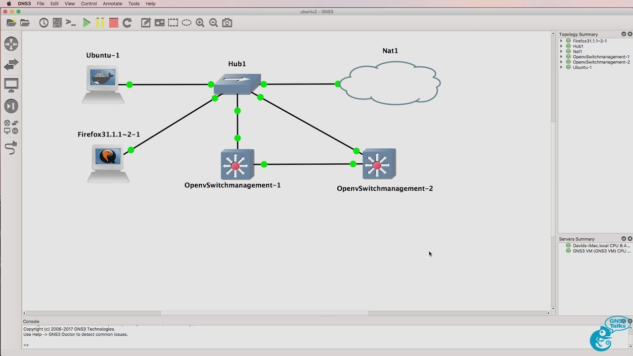 GNS3 Talks: Ubuntu Docker Container, OpenDaylight, Python, SDN Part 3