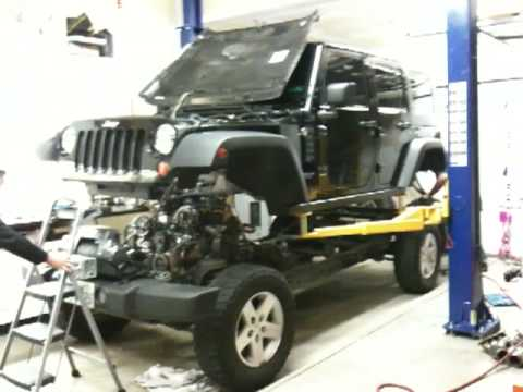 JK Body and Chassis Separation