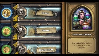 [Hearthstone] The Boomsday Project Solo Adventure. Lethal; Poisonmaster Pollark.