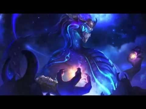 Aurelion Sol Login Screen Animation Theme Intro Music Song 【1 HOUR】