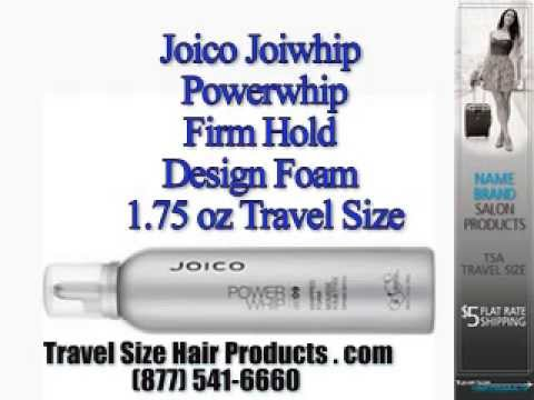 Joico Joiwhip Powerwhip Firm Hold Design Foam 175 Oz Travel Size