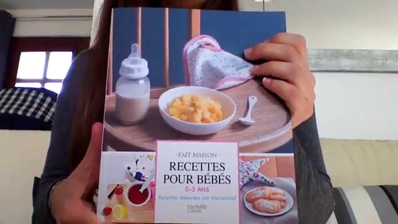 Mon Avis Sur Un Livre De Recettes Pour Bebe