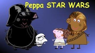 Свинка Пеппа -  Звездные войны