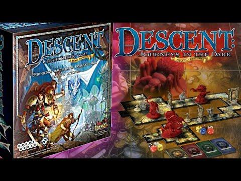Как играть в настольную игру Descent?