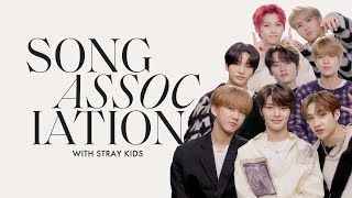 "Stray Kids Sing Justin Bieber, Adam Levine, and ""Levanter"" in a Game of Song Association 