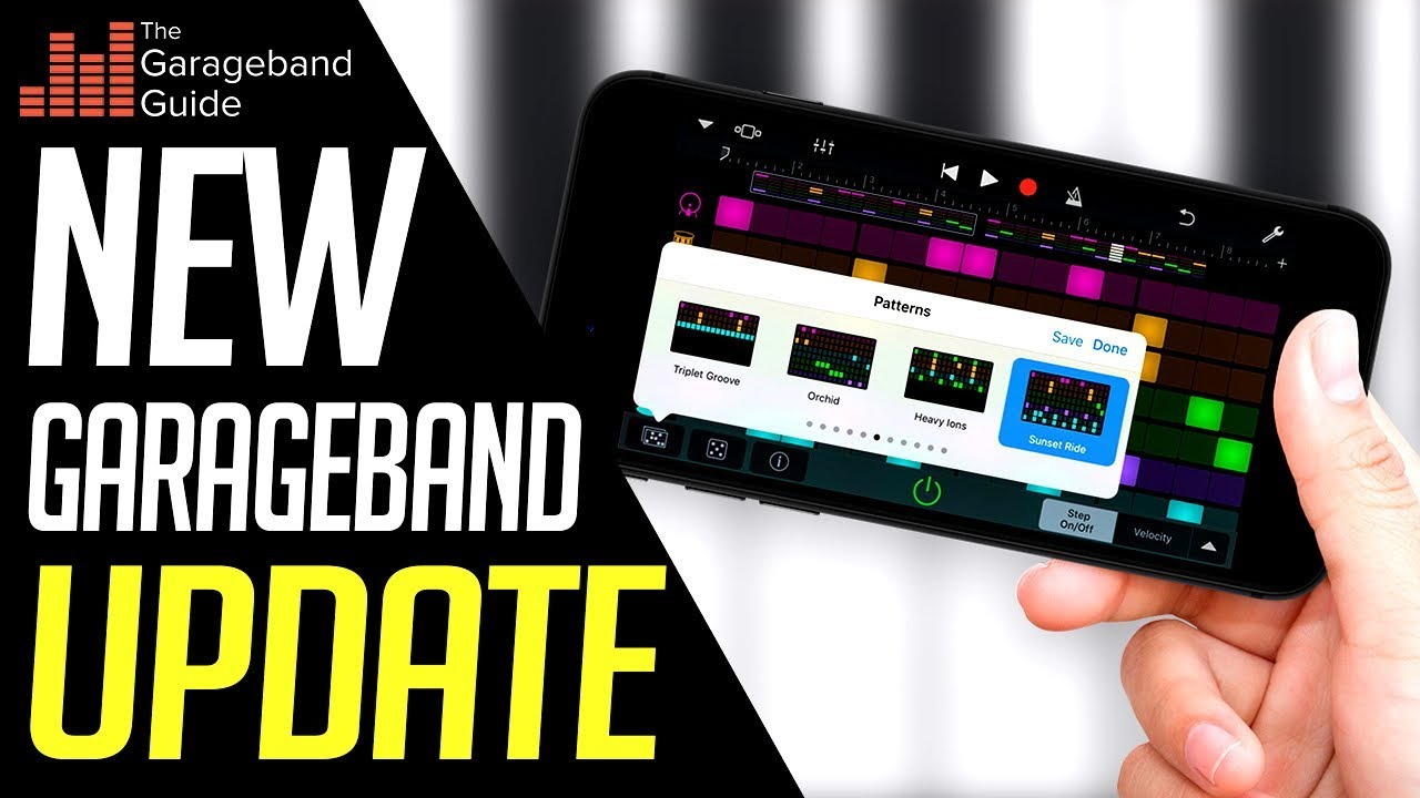 GarageBand iOS Update Overview