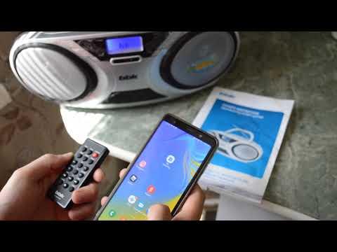 Обзор CD/MP3-МАГНИТОЛА Bbk BX516BT