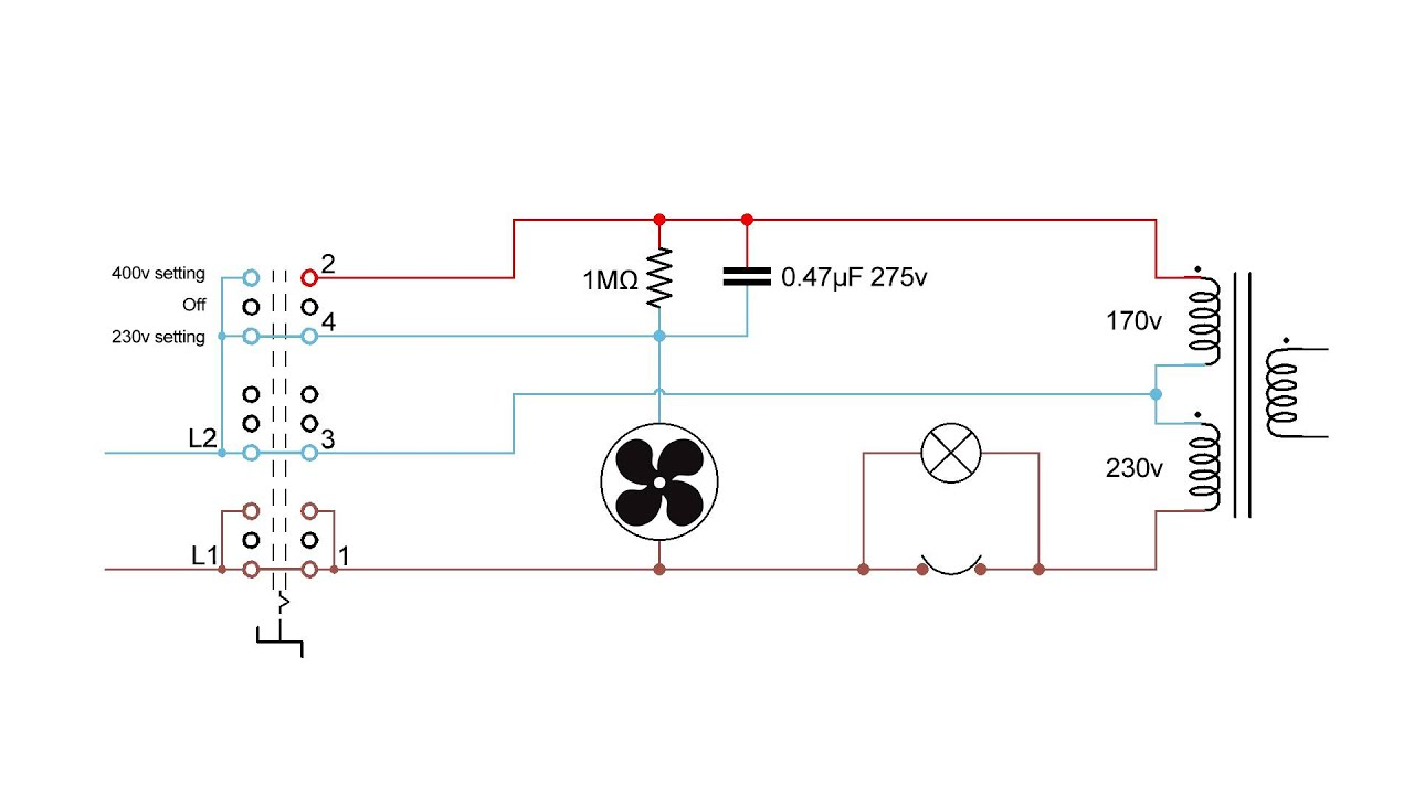convert a 240v arc welder into a 415v psu [ 1280 x 720 Pixel ]