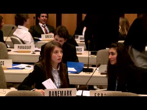 FerMUN: Model UN conference 2013, ITU, Geneva