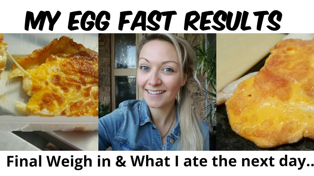 The Day After My Egg Fast | * Egg Fast Results * | What I Eat In A Day On The Ketogenic Diet ...