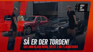 C63 AMG Black Series, Volvo, 911 GT 3 og Paris Hiltons fødder