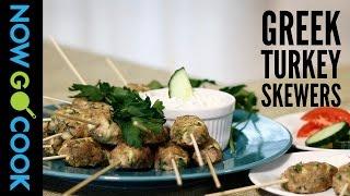 Turkey Skewers - Similar to Kebab, lower fat recipe - A Fantastic Finger Food