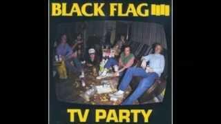 Black Flag - TV Party (1982) [FULL EP]