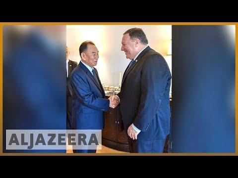 🇺🇸 🇰🇵 Kim Jong-un's right-hand man meets Mike Pompeo in New York   Al Jazeera English