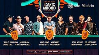 Barbalha - CE : Confira a programação da Festa de Santo Antônio 2019
