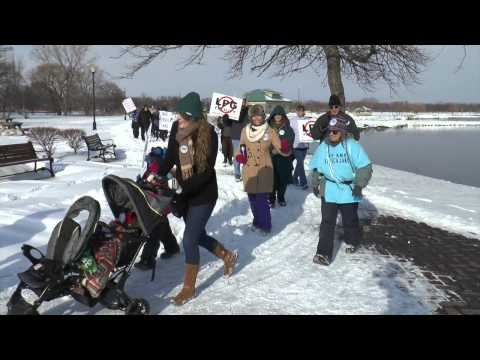 1-31-2015 Rally Geneva NY Against Crestwwod