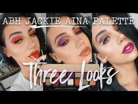 JACKIE AINA X ANASTASIA BEVERLY HILLS PALETTE  | Three Looks + Review thumbnail