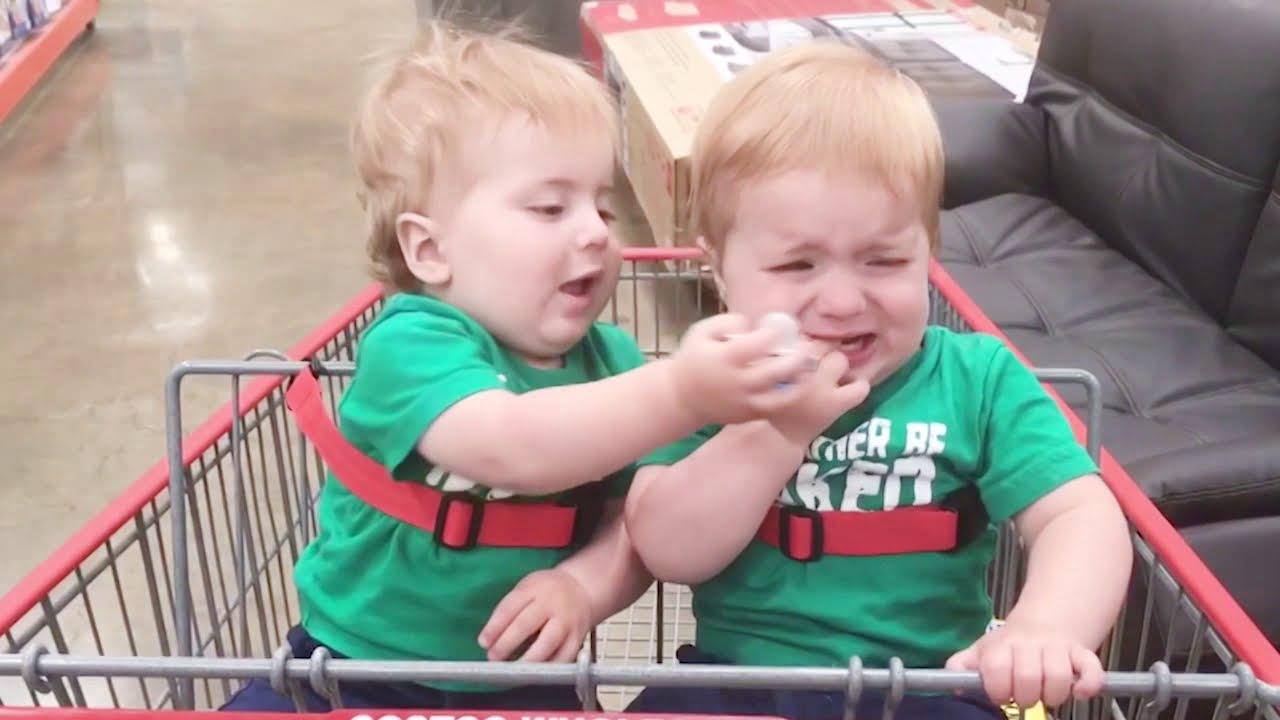 Naughty Twin Babies Make Your Head Hurt  Fun and Cute
