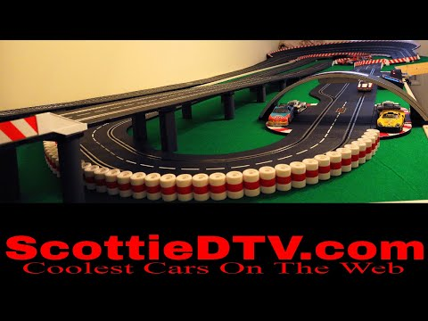 ScottieDTV International Raceway Expansion part1 Carrera Digital 132 Slot Cars