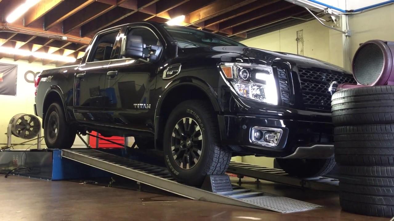 2017 Nissan Titan Off Road Warehouse JBA Long Tube Headers Uprev