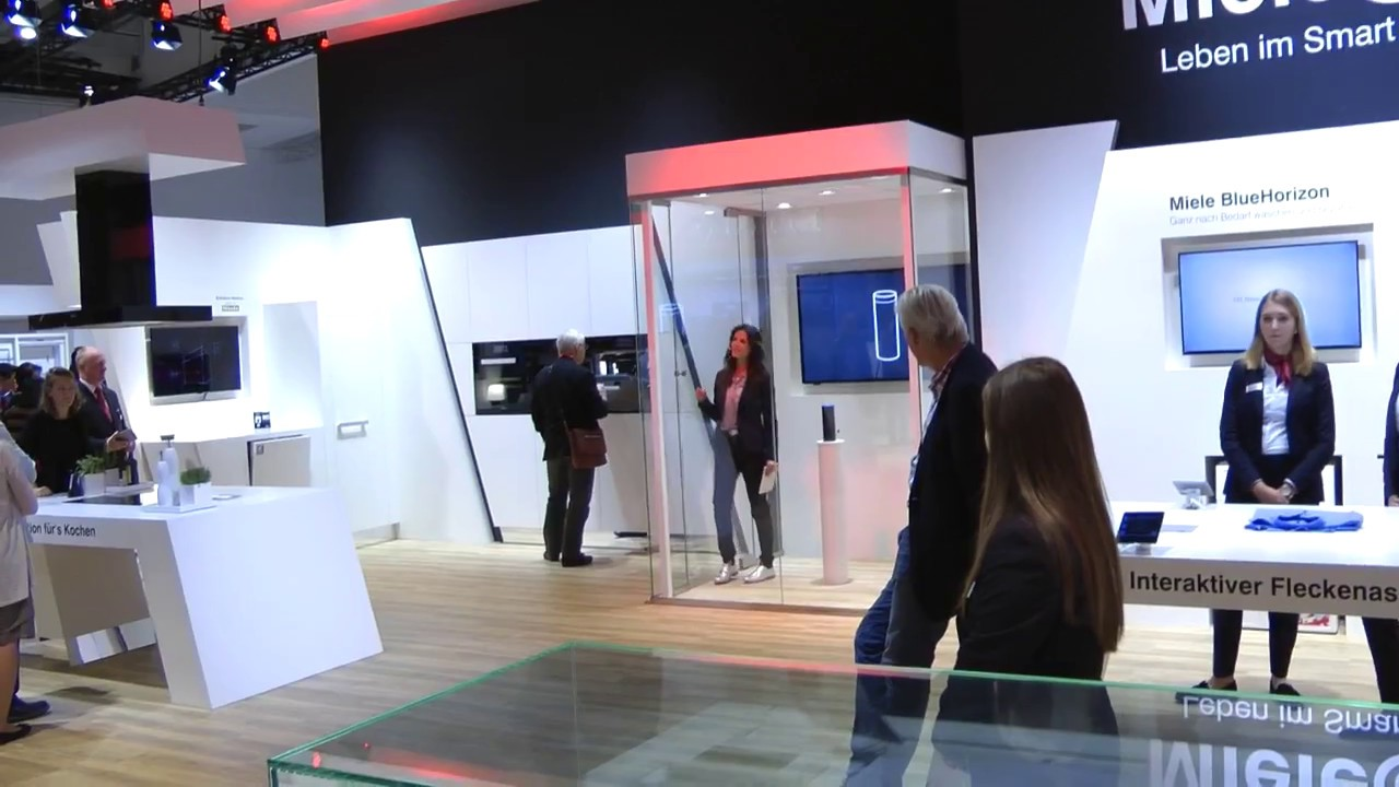miele booth ifa 2017 youtube. Black Bedroom Furniture Sets. Home Design Ideas