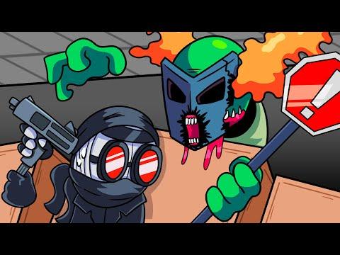 BOYFRIEND vs. ACCELERANT HANK?! Friday Night Funkin' Logic   Cartoon Animation