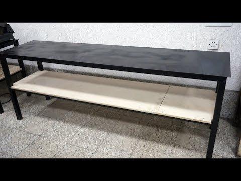 ПОЧЕМУ Я НЕ СДЕЛАЛ ЭТО РАНЬШЕ!!! Новый стол из профильной трубы!!!