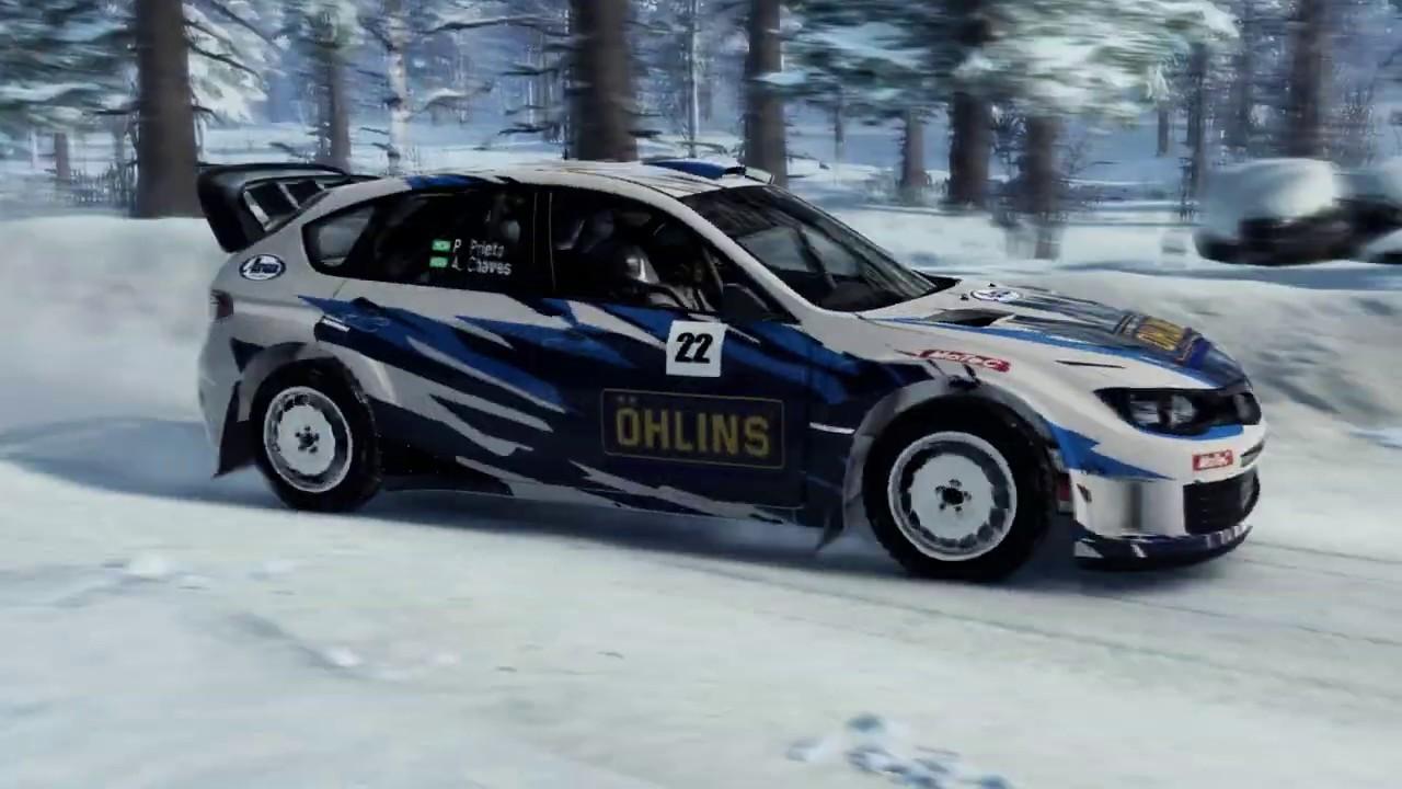 Afbeeldingsresultaat voor Ohlins impreza DiRT Rally 2.0