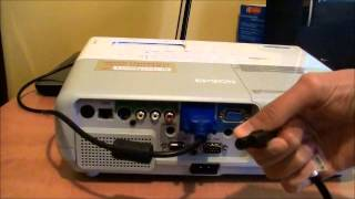 Video How to connect a laptop to a projector download MP3, 3GP, MP4, WEBM, AVI, FLV Agustus 2018