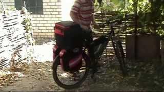 Видеообзор велосумка, велорюкзак, велобаул, сумка для велосипеда DenVik cora