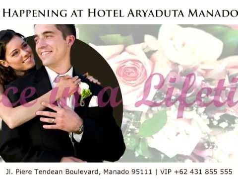 hotel aryaduta manado wedding package youtube