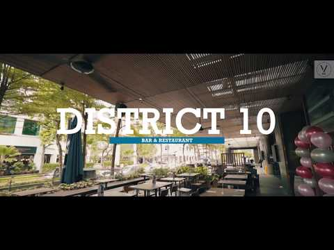 DISTRICT 10 Bar and Restaurant Corporate & Kids Parties Space - UE Square, Singapore