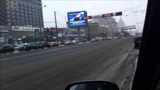 Медведев Д.А. на улицах Москвы.