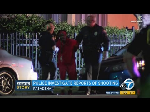 2 ARRESTED AFTER 37 YEAR OLD WOMAN IS SHOT, KILLED IN PASADENA HOME